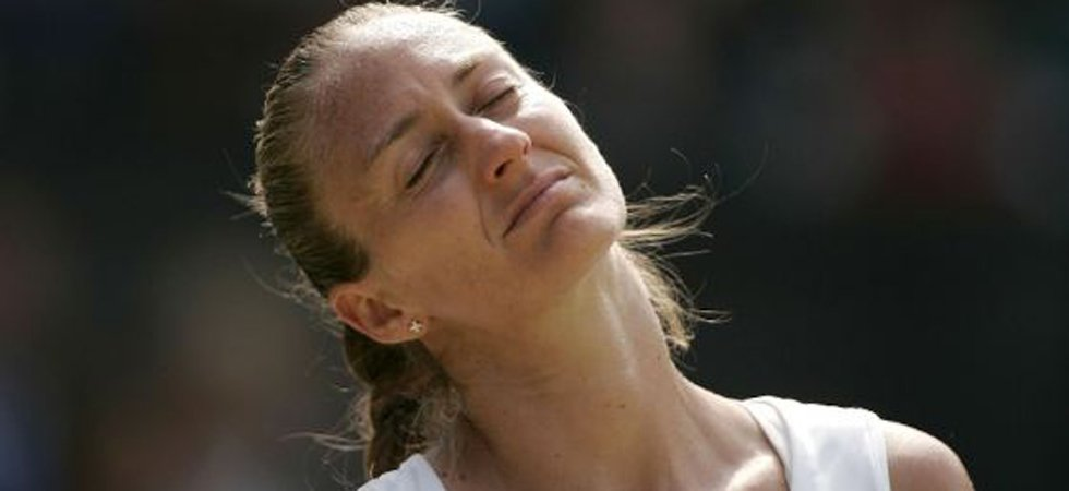 Mary Pierce en deuil
