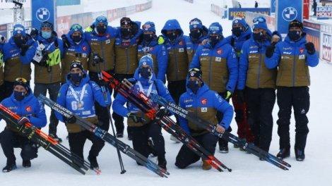 Biathlon - Mondiaux : La satisfaction des Bleus - Toute l'actualité sportive sur Orange