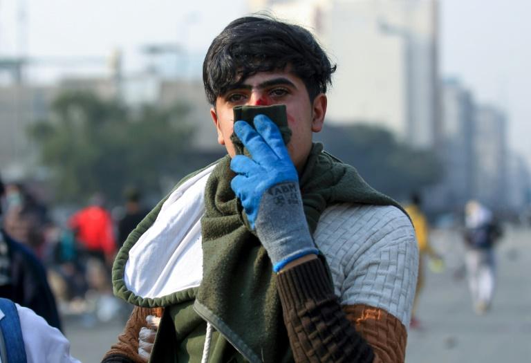 Manifestants antipouvoir et partisans de Moqtada Sadr se font face — Irak