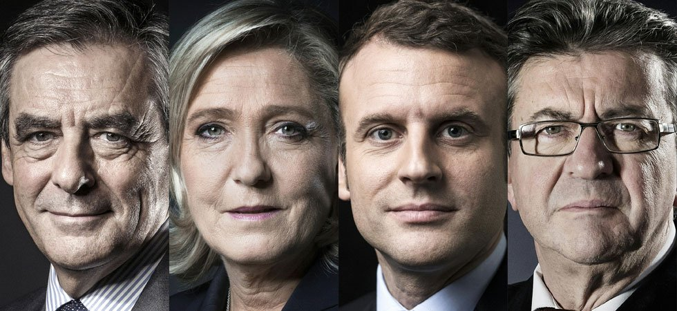 PRÉSIDENTIELLE. Macron, Le Pen, Fillon et Mélenchon dans un mouchoir de poche (POP2017 - BVA-Salesforce - Orange - presse régionale)
