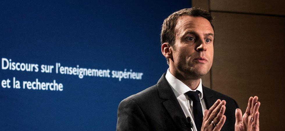 Présidentielle : Emmanuel Macron à la peine avec un discours sur les universités