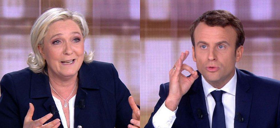 Présidentielle - débat : Emmanuel Macron jugé plus convaincant que Marine Le Pen