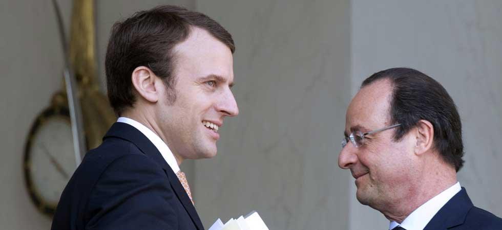 Hollande envoie des SMS à Macron et lui conseille de