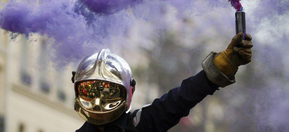 Les sapeurs-pompiers en grève pour dénoncer leurs conditions de travail