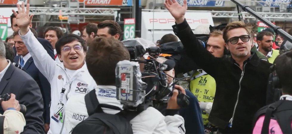 Brad Pitt, Jackie Chan : festival de stars aux 24 Heures du Mans