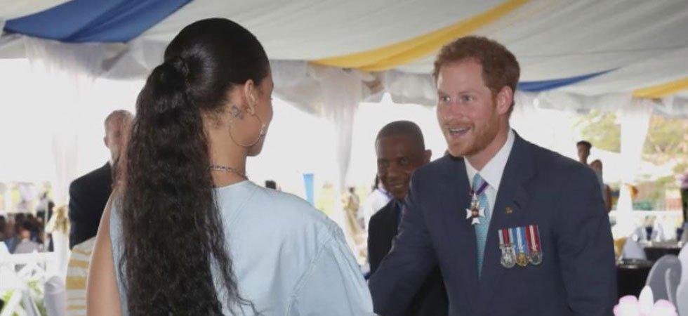 La folle rencontre du prince Harry
