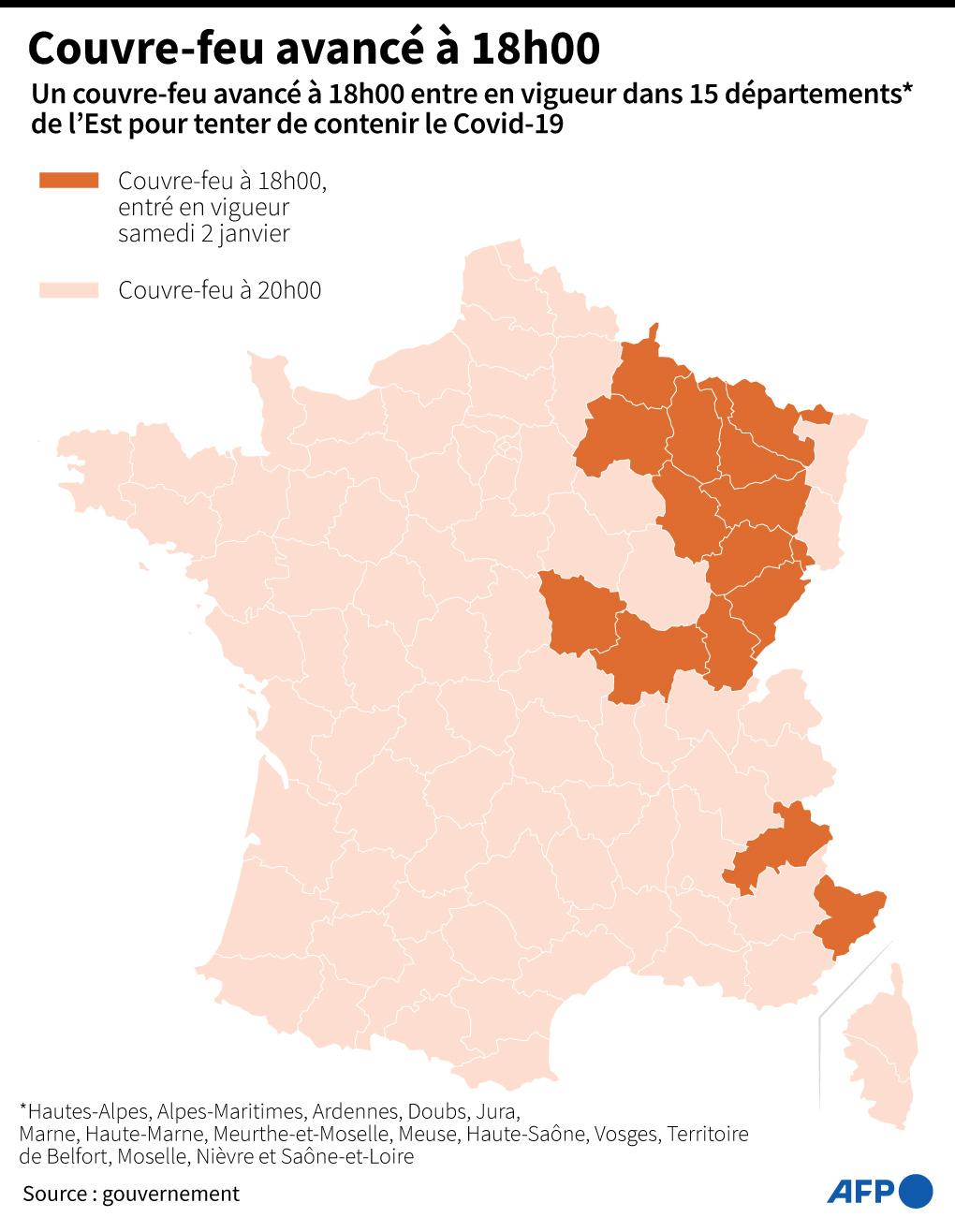 Covid-19 : les départements où les hospitalisations sont plus nombreuses qu'au printemps