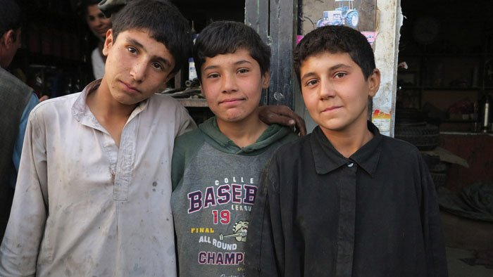 Les «bacha posh» afghanes, des filles au masculin