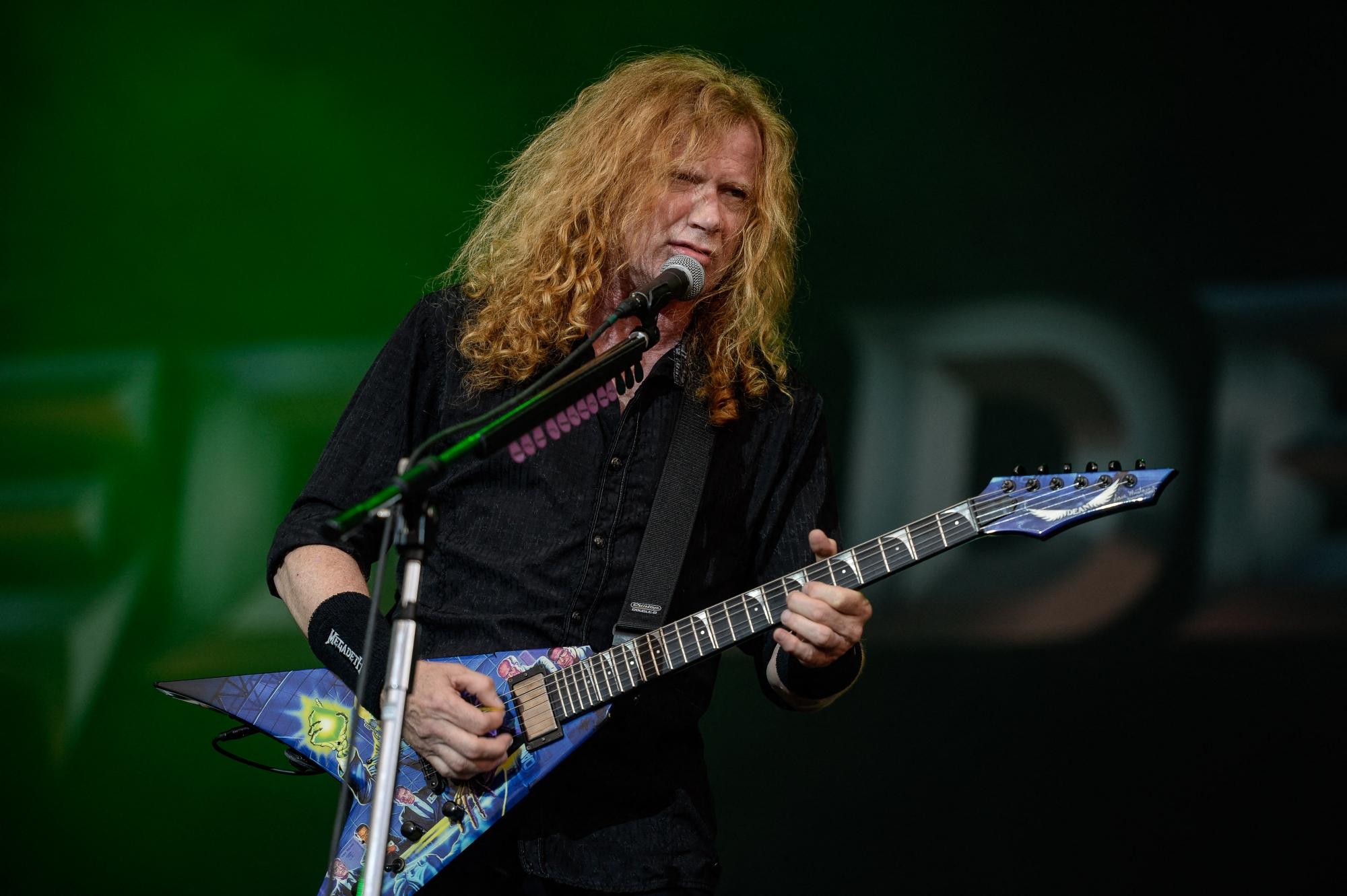 Dave Mustains atteint d'un cancer — Megadeth
