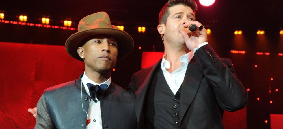 """Blurred Lines"": Robin Thicke et Pharrell Williams ont touché le gros lot"