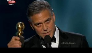 George Clooney soutient Charlie Hebdo - ZAPPING PEOPLE DU 12/01/2015