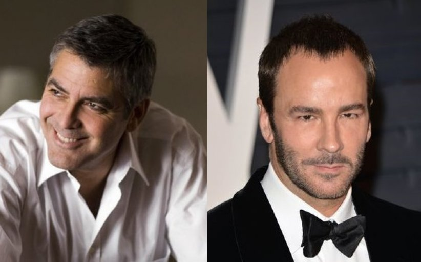 George Clooney et Tom Ford