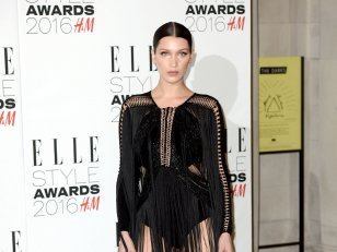 Bella Hadid, splendide aux ELLE Style Awards