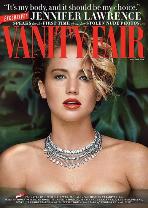 Jennifer Lawrence : son pied de nez aux photos volées