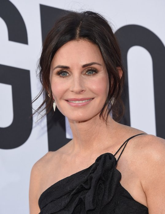 Courteney Cox alias Monica Geller