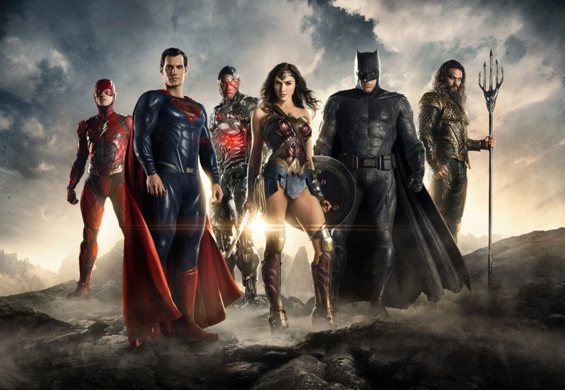 Justice League, rassemblement de super-héros
