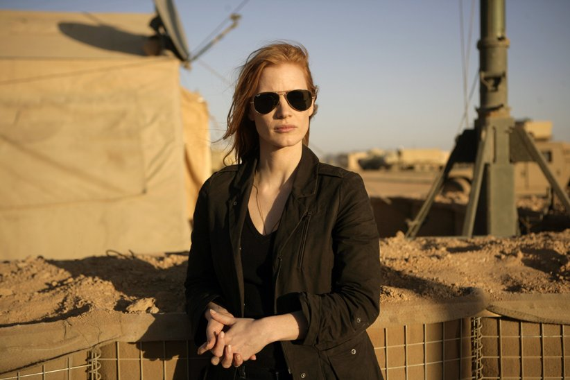 "Jessica Chastain dans ""Zero Dark Thirty"""