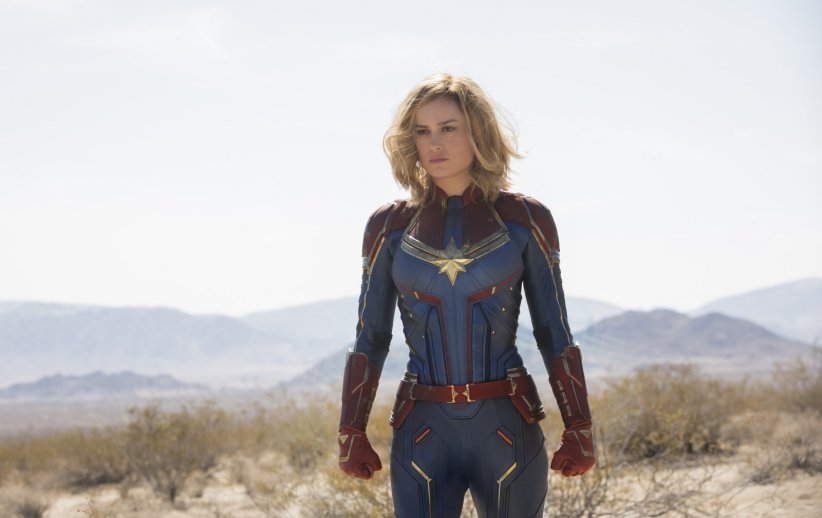 Brie Larson dans Captain Marvel (2019)