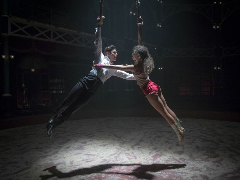 "Zac Efron et Zendaya dans ""The Greatest Showman"""
