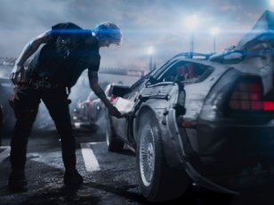 Ready Player One : une DeLorean plus vraie que nature grâce à Steven Spielberg