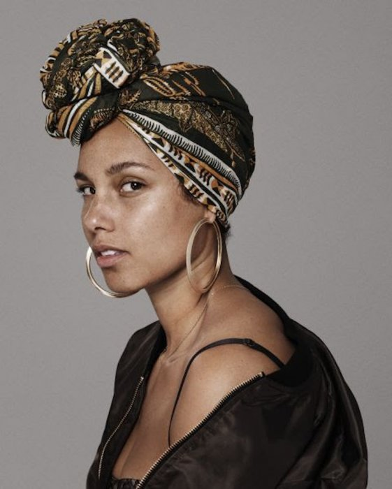 Alicia Keys, l'engagement au naturel