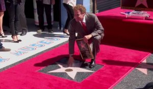 Will Ferrell reçoit son étoile sur l'Hollywood Walk of fame