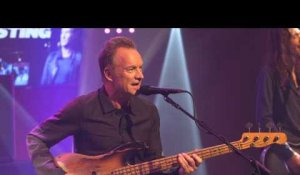 Sting - One Fine Day (live) - Le Grand Studio RTL
