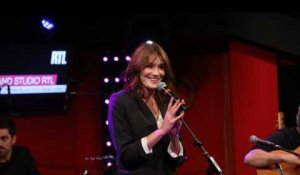 Carla Bruni - Jimmy Jazz (LIVE) Le Grand Studio RTL