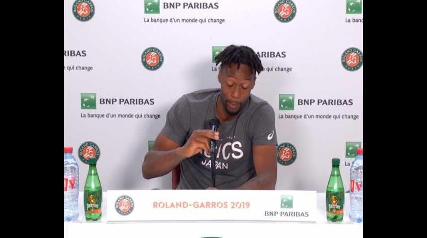 Roland Garros Monfils J Ai Plus Peur De Mon Coach Que De Ma