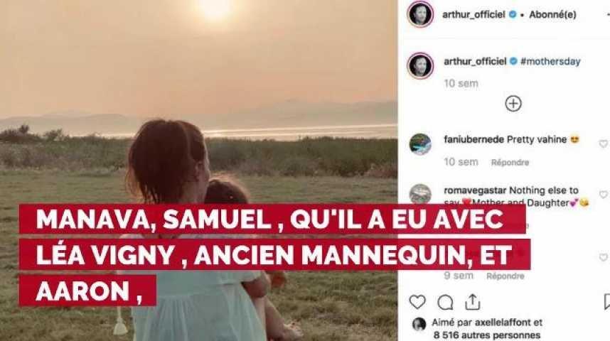 Photo Arthur Son Message Trop Mignon à Sa Fille Manava Pour Fêter Son 4e Anniversaire