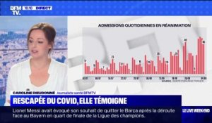 Covid-19 : hausse des patients en réanimations - 05/09