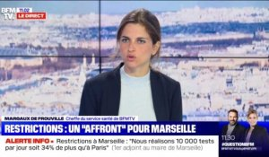 "Restrictions : un ""affront"" pour Marseille - 24/09"