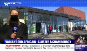 Variant sud-africain: cluster à Chambourcy - 27/02