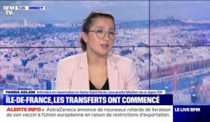 Île-de-France : les premiers transferts de patients Covid ! - 13/03
