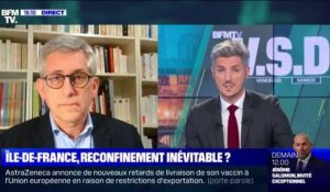 Île-de-France, reconfinement inévitable ? - 13/03