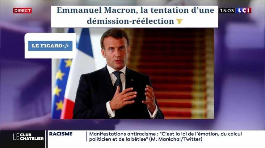 Emmanuel Macron La Tentation D Une Demission
