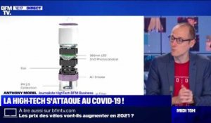 La high-tech s'attaque au Covid-19 ! - 13/01