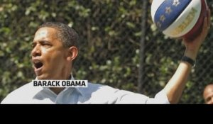 Barack Obama invite les stars de la NBA