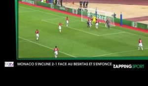 Zap sport du 18 octobre: L'AS Monaco s'incline 2-1 face au Besiktas Istanbul