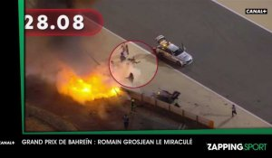 Zap Sport du 30 novembre : le terrible crash de Romain Grosjean