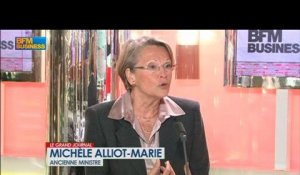 Michèle Alliot-Marie, ancienne ministre - 7 mars - BFM : Le Grand Journal 1/4