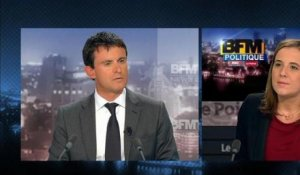 BFM Politique: l'interview de Manuel Valls par Charlotte Chaffanjon du Point - 10/03