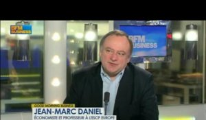 L'intervention d'Hollande: Alexandre Saubot et Jean-Marc Daniel dans Good Morning Business - 29 mars