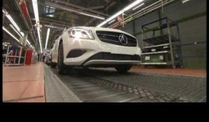 Mercedes-Benz Production A-Class - Body Assembly