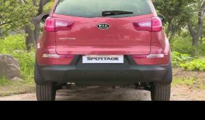 All-new Sportage exterior shots