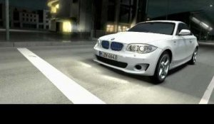 The BMW ActiveE   Driving shots car to car and inboard