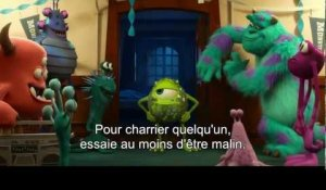 Monstres Academy bande annonce VOST (Disney Pixar)