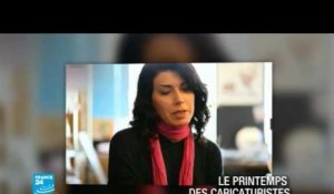 Webdocumentaire FRANCE 24 : Le Printemps des caricaturistes !