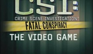 C.S.I. Fatal Conspiracy Announcement Trailer [North America]