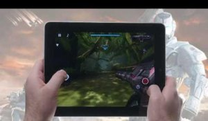 N.O.V.A. Near Orbit Vanguard Alliance HD for iPad: hands-on video